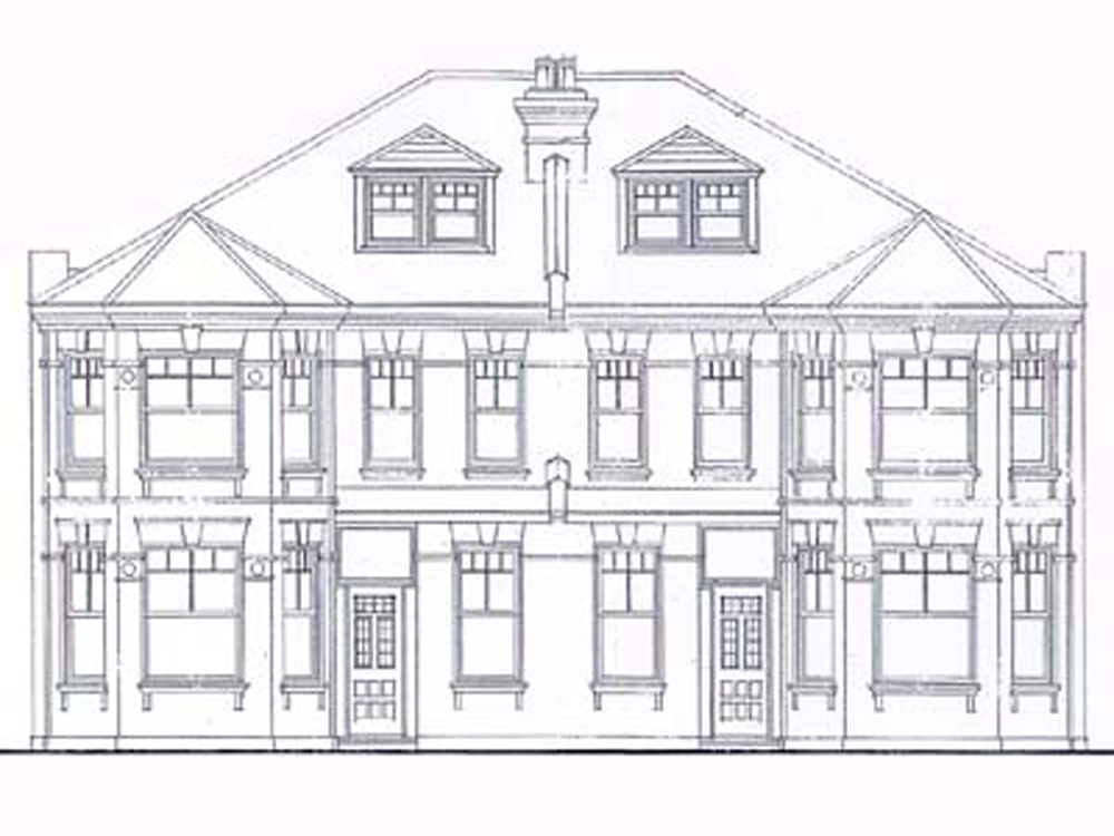 Cricklewood front elevation